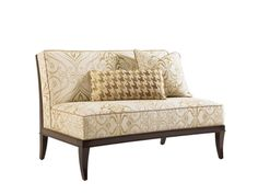 Lexington Living Room Montaigne Armless Settee 1659 23   Hickory Furniture  Mart   Hickory,