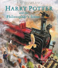 From the multi-coloured sorting hat, to the sinister Snape to the red glow of Ron's hair, we revel in Jim Kay's glorious pictures for the new illustrated edition of Harry Potter and the Philosopher's Stone
