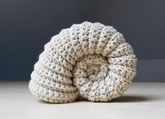 Crochet an Ammonite Fossil – FREE Pattern