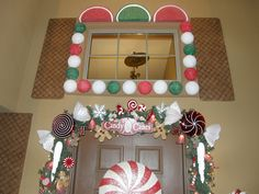a real (lol) gingerbread house!