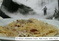 Spagetti szénégető módra (Spagetti carbonara 3.)