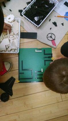Lego mazes!