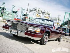 1982 Cadillac Le Cabriolet - Lowrider Magazine