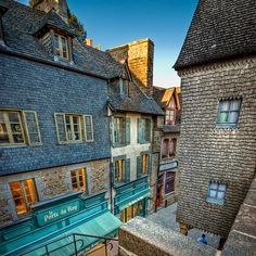 Idyllic Streets of Mont Saint Michel, France by Allard Schager Region Normandie, Normandie France, Oh The Places You'll Go, Places To Travel, Places To Visit, Travel Destinations, Mont Saint Michel France, Biarritz, Visit France