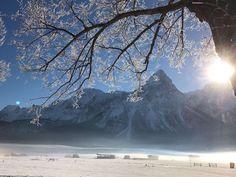 #klockerhof #familiekoch #dashotelfürentdecker #zugspitzarena #tirol #winter #schnee Winter Schnee, Mount Rainier, Mount Everest, Mountains, Nature, Travel, Zugspitze, Viajes, Traveling