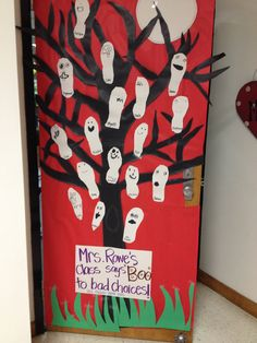 Image result for red ribbon week door decorating ideas ...