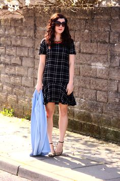 Rachel the Hat: Drop waist dress and a Duster Jacket