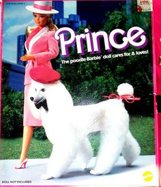 Barbie - Barbie's Dog / Poodle Prince, 1980s (Mylord) (I loved this pet!)