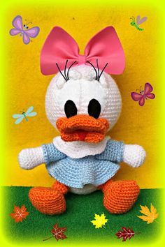 ROSMIGURUMI-ART: Daisy - Disney