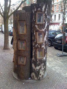 books in a tree