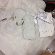 Mon Ami Baby Blanket found at I'm Just Sayin Gifts at Broadway & Waterloo in Edmond OK