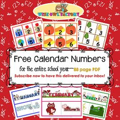 Free-calendar-pieces-through-the-school-year-by-Wise-Owl-Factory-square