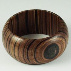 Fabulous bamboo bangle by Without Label.