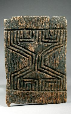 Africa | Granary door from the Dogon people of Mali
