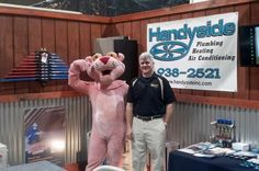 Owner, Bryan Handyside, at the PA Home Show!
