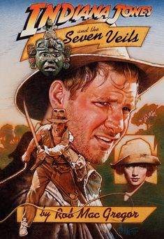 Drew Struzan, Indiana Jones and the Seven Veils