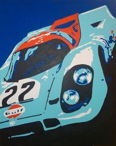 Porsche 917 Gulf Racing
