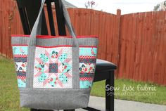 Sew Lux Fabric : Blog: Sewvivor - Bag Challenge