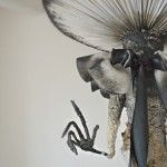 Arte textil - Black toadstool spirit