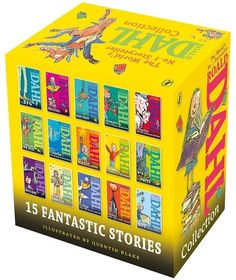 Roald Dahl 15 Book Boxset best-loved and best-known of children s writer Quentin