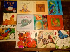 Here are some wonderful books on animals that lay eggs that I use to as read alouds, for students to do research and writing for Kindergarten.