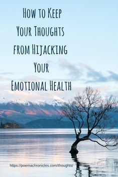 Separating your thoughts and emotions is crucial to keeping an even keel. #thoughts #mind #emotions #health #discern #knowing #mindfulness #selfawareness #selfhelp #christianblogger #newlife #mentalhealth #peace #peaceful