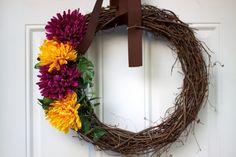 Easy DIY wreath!