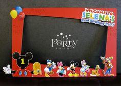 Mickey Mouse Clubhouse foto marco Prop copia por Partyprintkk