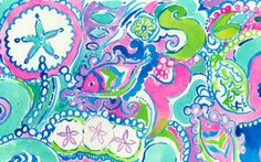 Lilly Pulitzer print story- Conch Republic