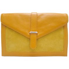Brooklyn Leather Clutch in Mustard - $89.00   Check it out at: http://www.bagaholics.com.au/leather-bags-c6/-brooklyn-leather-clutch-in-mustard-p589/