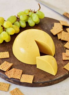 How to make vegan cheese at home with under 10 ingredients and just 10 minutes of your time (not including chill time). This dairy-free cheese is tangy, cheesy, and versatile - use it in slices, shredded, or melted into or over dishes. Plus, it's nut-free and soy-free! #vegancheese #dairyfreecheese #cheesesubstitute #cheesealternative #elasrecipes   elavegan.com Vegan Gluten Free, Gluten Free Recipes, Vegan Recipes, Cooking Recipes, Easy Vegan Cheese Recipe, Ella Vegan, Non Dairy Cheese, Plant Based Whole Foods, Nut Free