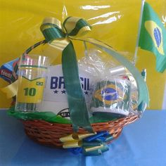 Cesta Decorada do Brasil