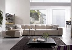 Sirna Living Room Sectional Sofa | living room microfiber sectionals sofas upholstered
