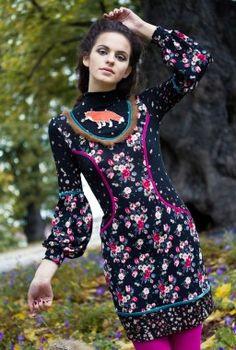 Triin Kärblane Fox dress 1