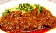 sm - hovädzie mäso v marináde No Salt Recipes, Cooking Recipes, Good Food, Yummy Food, Czech Recipes, Hungarian Recipes, What To Cook, Food 52, I Foods