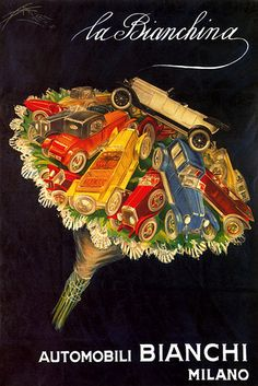 Vintage Italian Posters ~ Bianchi
