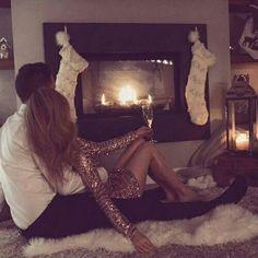 Fotos navideñas que todo macho alfa quiere con su novia esta Navidad