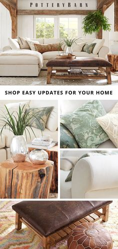 Home is where you go to recharge, so set the tone for relaxation with soothing palettes, natural materials and timeless design. Shop an array of new pillows, decor and accessories to update your home with ease.