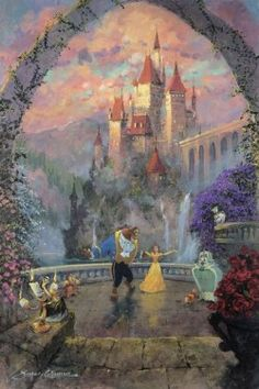 """""""Beast and Belle Forever"""" by James Coleman"""