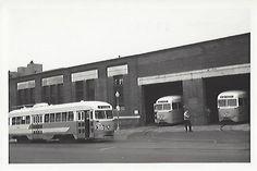 DC Transit PCCs at Navy Yard Car Barn.