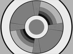WFIL-TV Test Pattern 1940's