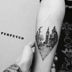 incredible Big Ben / London Dotwork Tattoo ♥ insta: Source by MsBaldman Black Tattoo Art, Tatoo Art, Tattoo Life, Love Tattoos, Body Art Tattoos, New Tattoos, Tattoos For Guys, England Tattoo, London Tattoo