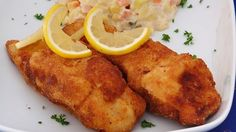 Czech Recipes, French Toast, Chicken, Meat, Breakfast, Cooking, Czech Food, Carp, Pisces