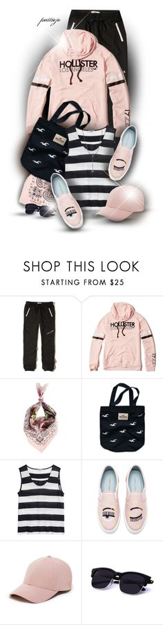 """The Eyes Have It"" by rockreborn ❤ liked on Polyvore featuring Hollister Co., Ternary London, Nicole Farhi, Chiara Ferragni, Sole Society and Bavna"