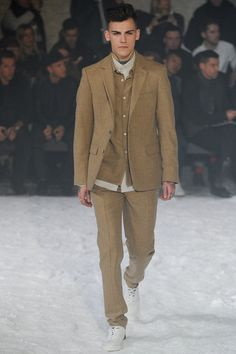Ami Fall 2014 Menswear Collection Slideshow on Style.com
