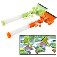 Water Spray Double Sides Glass Cleaning Brush Window Cleaning Tool