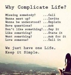 Keep It Simple and Smile