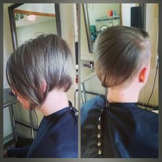 Super fun short due with attitude!! Makes me want to cut mine.  #boulderhair #zinke_aveda