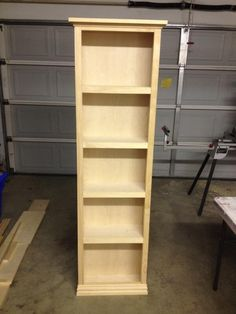 Robert Built This Sharp Looking Bookcase Over The Holidays Using His Kreg Jig