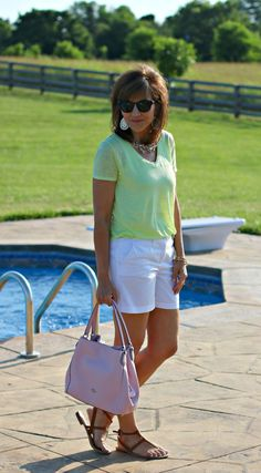 22 DAYS OF SUMMER FASHION-GREEN AND PINK